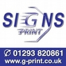 G-Print Signs Logo