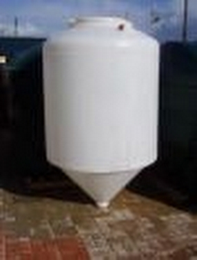 Conical Biofuel Tanks by Smiths of the Forest of Dean Ltd
