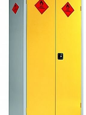 Eight Compartment Hazardous Cabinet by Shelving Store