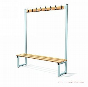 Single Sided Hook Bench Type C by Shelving Store
