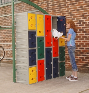 School eXtreme™ Plastic Lockers by Shelving Store