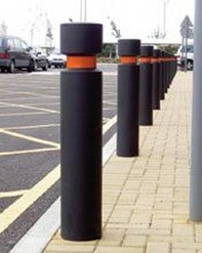 Steel core bollards by Autopa Limited