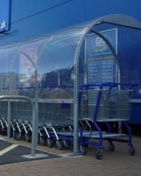 Trolley shelters by Autopa Limited