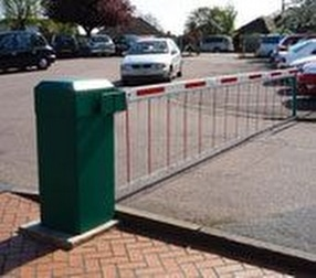 Automatic rising arm barriers by Autopa Limited