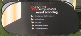 Banner In A Bag by Instant Marquees Ltd