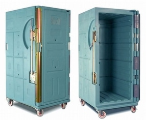 Portable Insulated Container Plastic Crates by Olivo Cold Logistics
