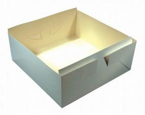 Cake Box Bases 10 x 10 x 6 by R R Packaging Ltd