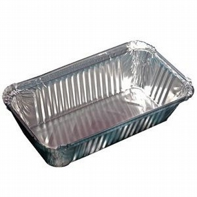 6a Foil Food Containers x500 by R R Packaging Ltd