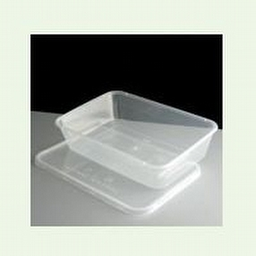 Clear Microwaveable Container 500cc by R R Packaging Ltd