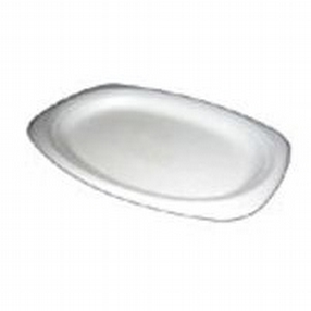 Catering Oval Poly Plates by R R Packaging Ltd