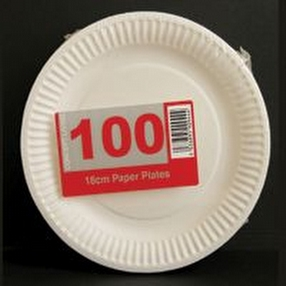 Catering Disposable Paper Plates by R R Packaging Ltd
