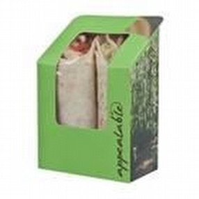 Self-Seal Tortilla Pack Fern Design x 1000 by R R Packaging Ltd
