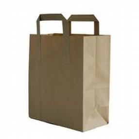 Brown Paper Bags With Handles by R R Packaging Ltd