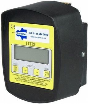 Pre-setable Digital Flowmeter by Lumeter Ltd