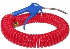 Air Blow Gun c/w 8m Spiral Hose by Lumeter Ltd