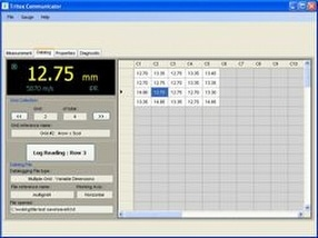 Datalogging software by Tritex NDT Ltd