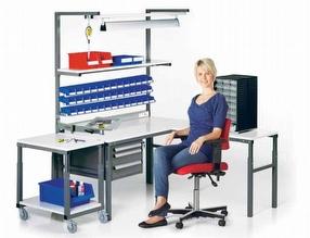 Technical Furniture: Workbenches by Treston Ltd