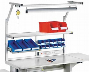 Technical Furniture: Workbench Accessories by Treston Ltd
