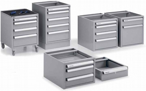 Technical Furniture: Drawer Cabinets by Treston Ltd