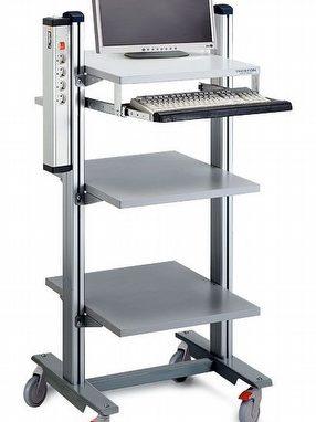 Technical Furniture: Trolleys by Treston Ltd