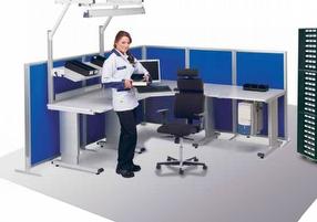 Technical Furniture: Screen System by Treston Ltd
