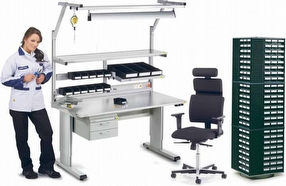 ESD Products: Workbenches by Treston Ltd