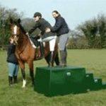Horse Mounting Blocks by Martello Plastics Ltd.