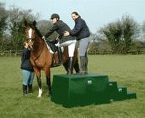 Horse Mounting Blocks by Martello Plastics Ltd.