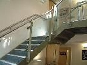 Bespoke Metal Staircases by UMG (Unique Metal and Glass) Co Ltd