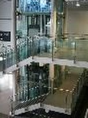 Bespoke Office Balustrades by UMG (Unique Metal and Glass) Co Ltd
