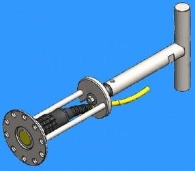 Multigauge ROV Probe Holder by Tritex NDT Ltd
