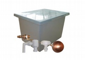 Insulated Water Tank with Type AB Airgap by Drayton Tank & Accessories Ltd