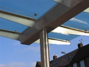 Details & Connections for Canopies, Lancs by UMG (Unique Metal and Glass) Co Ltd