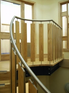 Bespoke Office Balustrades, Derbys by UMG (Unique Metal and Glass) Co Ltd