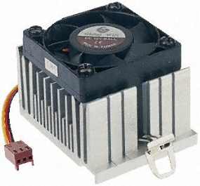 FHP08 processor cooling fan 12V 6000rpm by RS Components Ltd