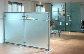 Screens & Partitions, fixed and freestanding by Shopkit Group Ltd