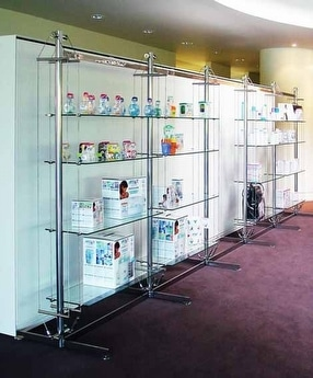 Mast Screening & Shelving by Shopkit Group Ltd