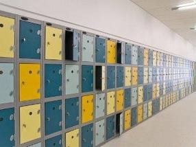School Storage Lockers by Shelving Store