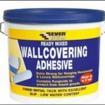 Everbuild Ready Mixed Wallcovering Adhesive by TRS Supplies Ltd.