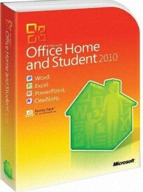 Office Home and Student 2010 by RS Components Ltd
