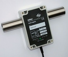 vent-captor Inline Type Air Flow Meter by Weber Sensors Ltd.