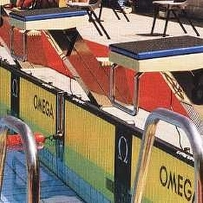 Swimming Pool Starting Blocks by POW Sport & Leisure Co.