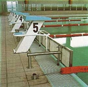 Swimming Pool Turning Panels by POW Sport & Leisure Co.