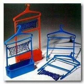 Changing Room Clothes Hangers & Baskets by POW Sport & Leisure Co.