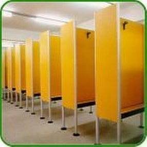 Swimming Pool Shower & Toilet Cubicles by POW Sport & Leisure Co.