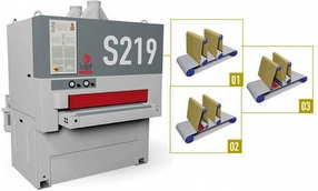VIET S219 Compact Wide Belt Sander by TM Machinery