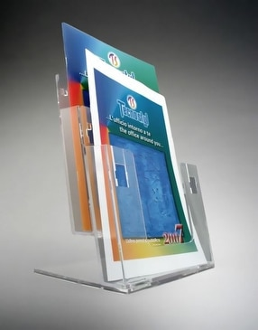 A4 Brochure Holder by The Big Orchard