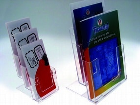 Acrylic Leaflet Holders by The Big Orchard