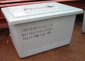 GRP Cold Water Storage Tanks by Precolor Sales Ltd.