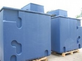 Pre-Insulated GRP Water Storage Tanks by Precolor Sales Ltd.